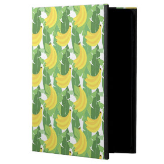 Banana Leaves And Fruit Pattern iPad Air Cover