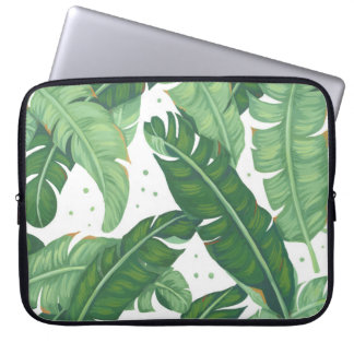 Banana Leaves Laptop Sleeves