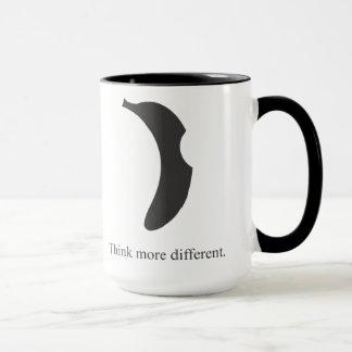banana logo coffee mug