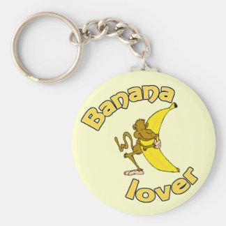 Banana Lover Keychain