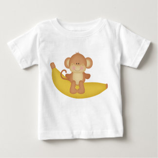 Banana Monkey baby t-shirt