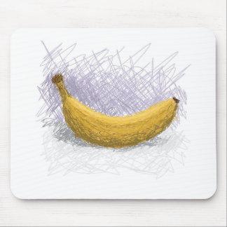 banana mouse mat