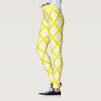 Banana Neoplaid Leggings