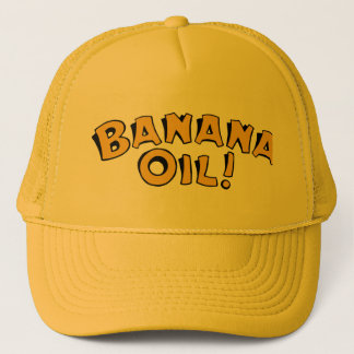 Banana Oil Trucker Hat