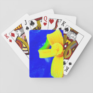 Banana on Blue Playing Cards