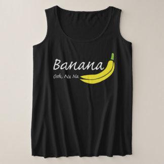 Banana, Ooh, Na Na Plus Size Tank Top