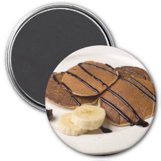 Banana Pancake Refrigerator or Locker Magnet