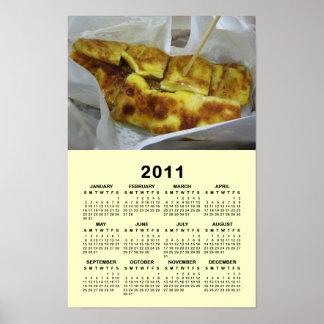 Banana Pancake [Roti Kluai Khai] 2011 Calendar Poster