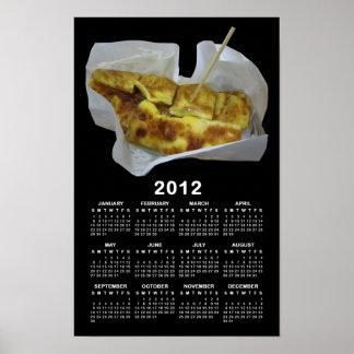 Banana Pancake [Roti Kluai Khai] 2012 Calendar Poster