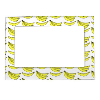 Banana Pattern. Magnetic Picture Frame