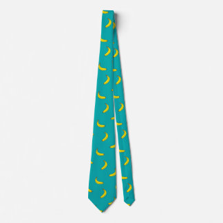 Banana Pattern Novelty Tie