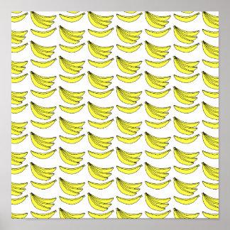 Banana Pattern. Poster