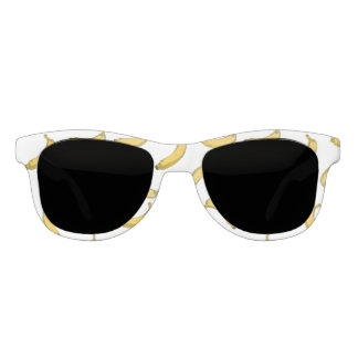 banana pattern sketch sunglasses