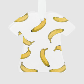 Banana pattern sketch version ornament