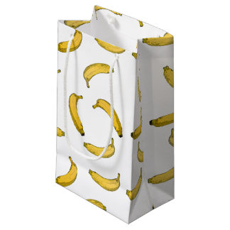 Banana Pattern Small Gift Bag