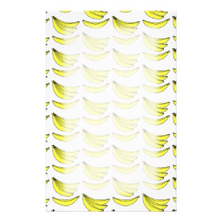 Banana Pattern. Stationery