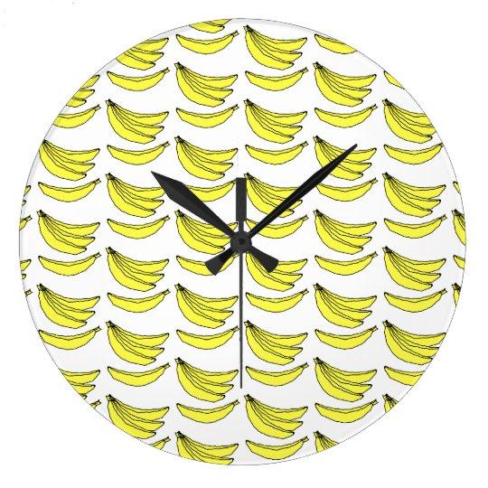 Banana Pattern. Wall Clock