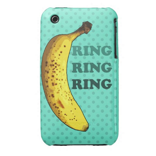 Banana Phone IPhone 3GS Casemate Barely There Case