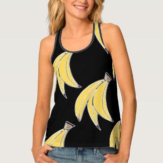 Banana Print Tank Top