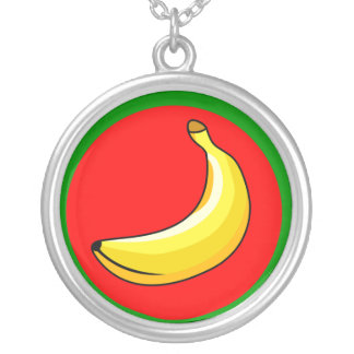 Banana Republic, Democratic Republic of the Congo Silver Plated Necklace