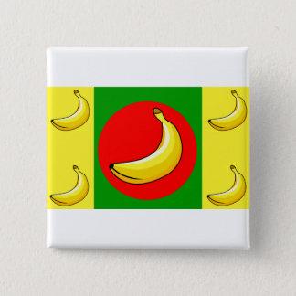 Banana Republic Flag 15 Cm Square Badge