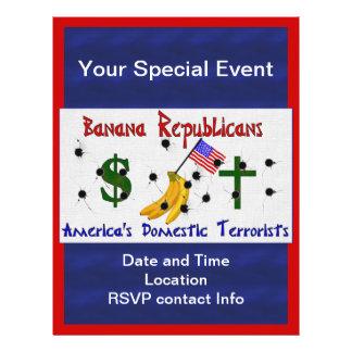 Banana Republicans 21.5 Cm X 28 Cm Flyer