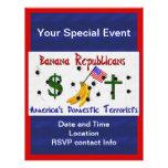 Banana Republicans Full Colour Flyer