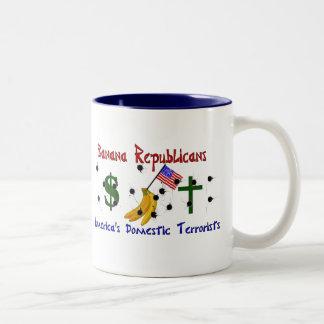 Banana Republicans Coffee Mugs