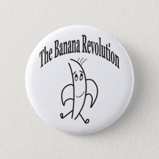 BANANA REVOLUTION 6 CM ROUND BADGE