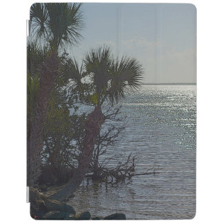 Banana River Palm Trees Painterly iPad Cover