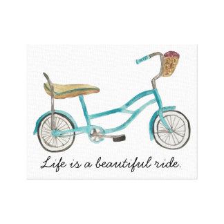 Banana Seat Bike Canvas Canvas Print
