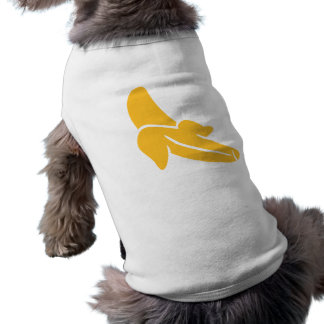 Banana Sleeveless Dog Shirt
