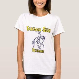 Banana Slug Dressage-white T-Shirt