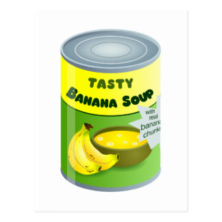 Banana Soup Postcard