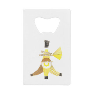 Banana Split Credit Card Bottle Opener