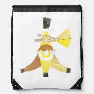 Banana Split Drawstring Bag