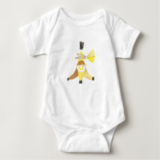 Banana Split No Background Babygro Baby Bodysuit