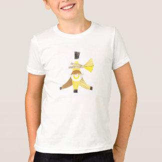 Banana Split No Background Kid's T-Shirt