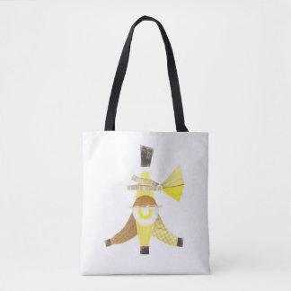 Banana Split Printed Tote Bag
