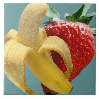 Banana Strawberry Tile