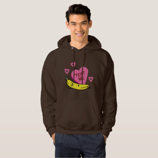 Banana Text Me Valentine Valentine's day laying Hoodie