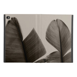 Banana Tree Leaves in Sepia iPad Mini 4 Case