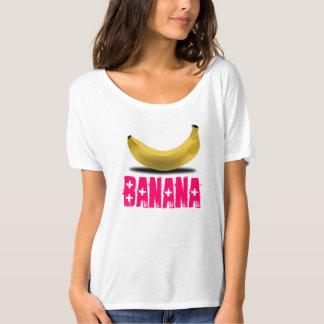 BANANA WITH PINK TEXT T-Shirt