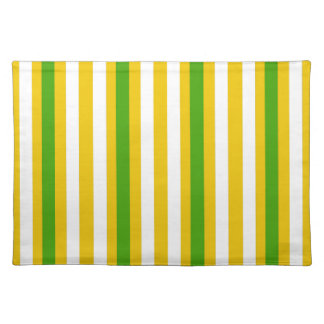 Banana Yellow Stripe Placemat