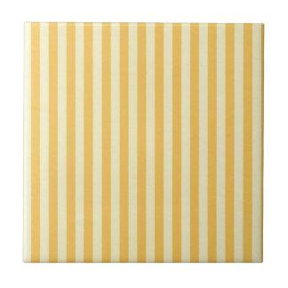 Banana Yellow Stripes Tile