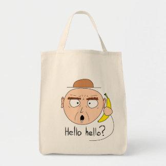 """Bananaphone"" canvas bags (light)"