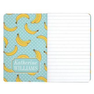 Bananas And Polk Dots | Add Your Name Journal