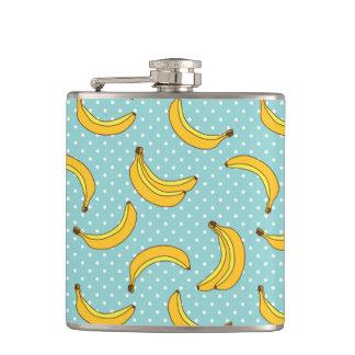 Bananas And Polk Dots Flasks