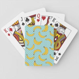 Bananas And Polk Dots Playing Cards