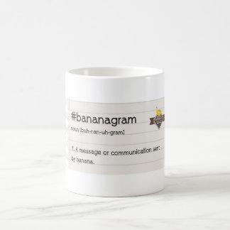 BANANAS #bananagram Notebook Mug